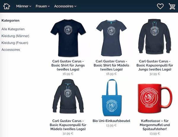 FSR shirt-shop - T-Shirts, Sweatshirts, Pulls, Tassen der Fachschaft Medizin Zahnmedizin Dresden