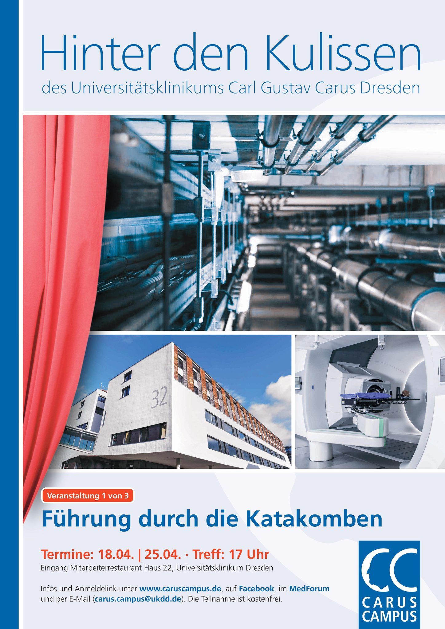 Hinter Den Kulissen Carus Campus Medforum Dresden Medizinische