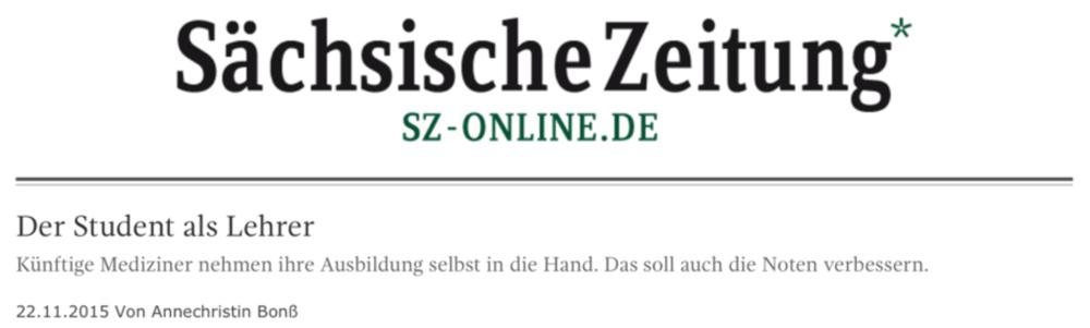 Der Student als Lehrer – Artikel – Sächsische Zeitung